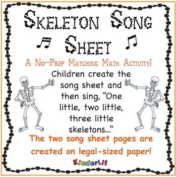 Skeleton Song Sheet