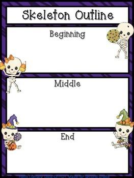 Skeleton Story Frame