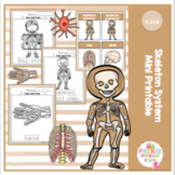 Skeleton System Mini Printable