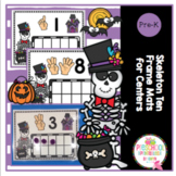 Skeleton Ten Frame Mats for Centers