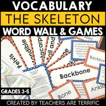 Skeleton Vocabulary and Word Wall