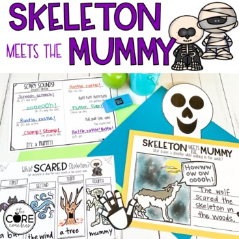 Skeleton Meets the Mummy: Interactive Read-Aloud Lesson Plans and Activities