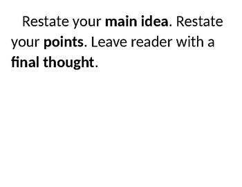 Skeleton of an Essay