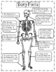 Science Reading Mini unit - Skeletons -  informational pas