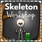 Kindergarten - Special Education - Halloween -Skeleton Workshop