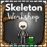 Kindergarten - Special Education - Halloween -Skeleton Workshop