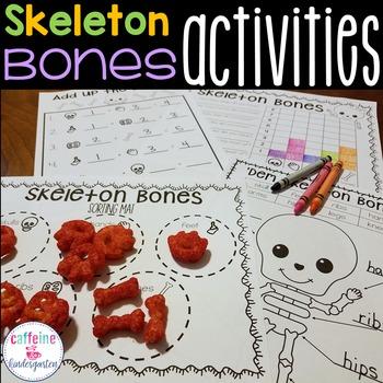 Skeletons - 'Dem Bones Skeleton Math Unit