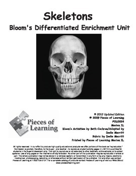 Skeletons - Differentiated Blooms Enrichment Unit