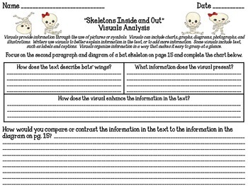 Skeletons Inside and Out Reading Analysis Lessons 4-6
