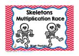 Skeletons Multiplication Race