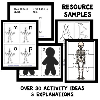 Skeletons Theme Preschool Lesson Plans