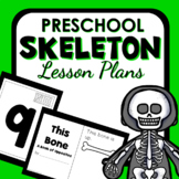 Skeletons Theme Preschool Lesson Plans