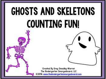 Numbers And Counting! Skeletons and Ghosts Counting Fun!