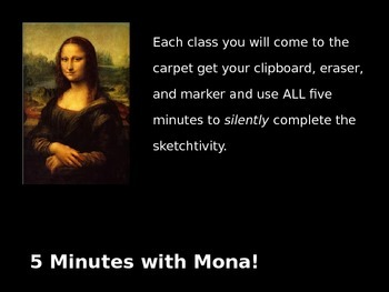 Sketch Ideas Powerpoint MONA style