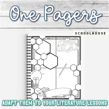 Sketch Note and Book Report Pack