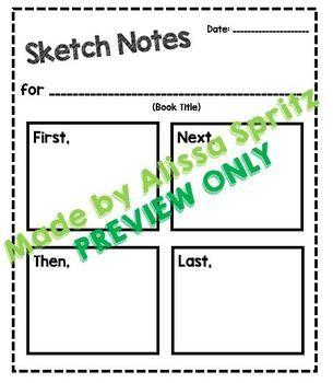 Sketch Notes Organizer