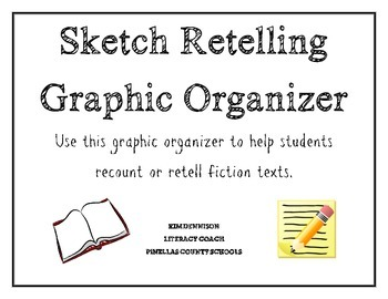 Sketch Retelling Graphic Organizer