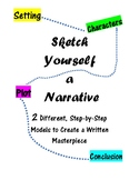 Sketch Yourself a Story (2 Different Models for Writing Na