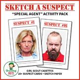"Sketch a Suspect - Girl Scout Cadette ""Special Agent"" (Ste"