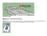 SketchUp 3D Model Project Create R2D2 Flat Character PBL STEM