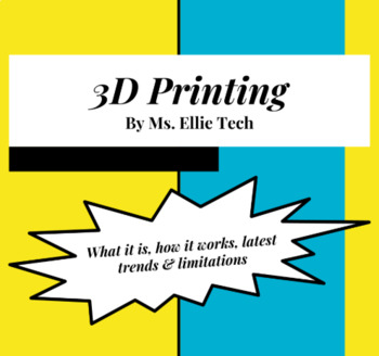 3D Printing Handout