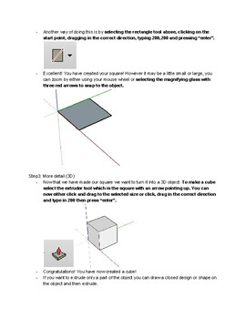 SketchUp lesson for beginners