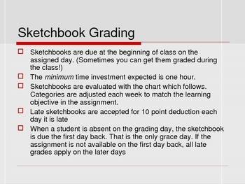 Sketchbook Assignments