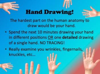 Sketchbook Prompts for Art Class