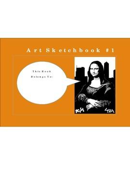 Sketchbook Prompts for Grades 5 - 12