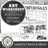 Middle School or High School Mini Art Lesson: Zentangle Do