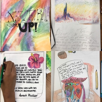 Sketchbook or Sub Prompt: An artist sends you a letter in the mail...