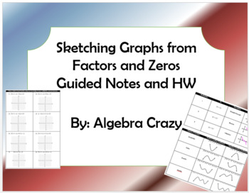 Sketching Graphs from Factors