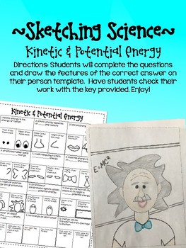 Sketching Science- Potential & Kinetic Energy