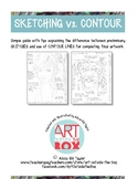 Sketching and Contour Drawing