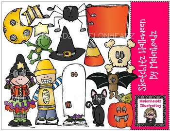 Sketchitz Halloween by Melonheadz COMBO PACK