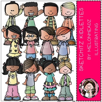 Sketchitz kidlettes by Melonheadz COMBO PACK