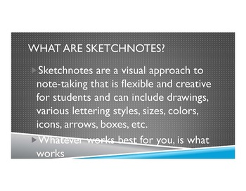 Sketchnotes: How to create