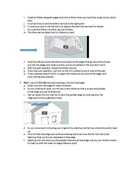 Sketchup--3D Design-Part II- Handout--Worksheet/Key