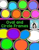 Sketchy Borders Frames and Elements Clip Art Set
