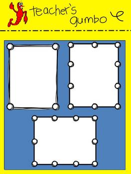 Sketchy Frames and Product Borders