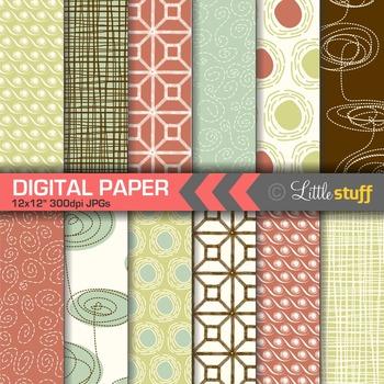 Sketchy Patterns Digital Paper