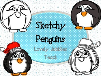 Sketchy Penguins