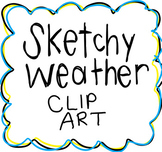 Sketchy Weather Clip Art