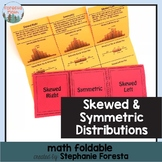 Skewed and Symmetric Distributions Math Foldable