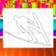 Ski Jump - A Math-Then-Graph Activity - Solve 15 Systems