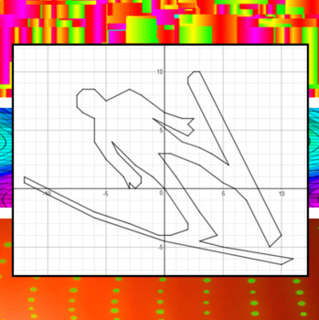 Ski Jump - A Math-Then-Graph Activity - Solve 30 Systems