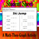 Ski Jump - 30 Systems & Coordinate Graphing Activity