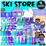Ski Store Clip Art Set {Educlips Clipart}