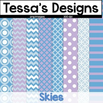 Skies{Digital Paper Pack}