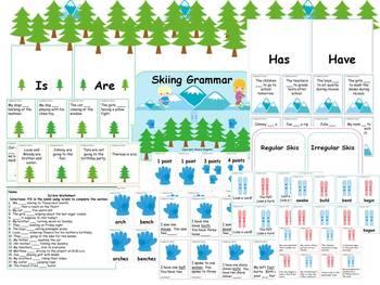 Skiing Through Grammar Verb Tenses